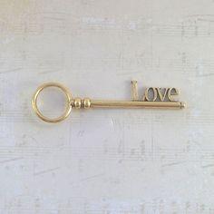 3 inch love key