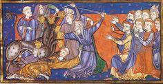Douce Apocalypse, Westminster, England, ca. 1270-1274