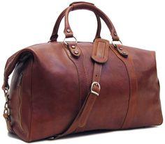 Roma Full Grain Leather Travel Bag – Floto
