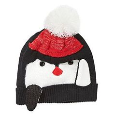 Collection 18 Penguin Beanie With Pom