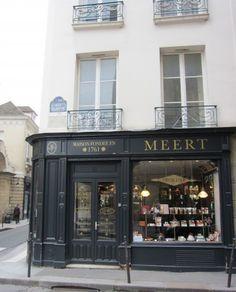 Meert, a chocolatier in Paris