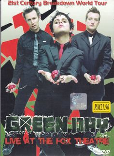 DVD GREEN DAY Live At The Fox Theatre 21st Century Breakdown World Tour PAL