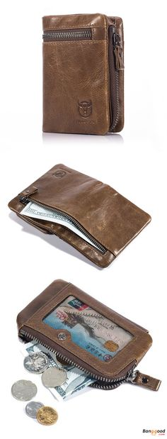 US$22.45 + Free Shipping. Bifold Wallet, Men's Leather Wallet, Coin Holder, Mens Wallet, Credit Card Holder. Material: Genuine Leather. Color: Brown. >>> To View Further, Visit Now.