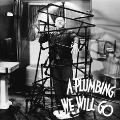 John Tyrell, born today in 1900, played in many shorts, including the Judge in A Plumbing We Will Go that gave us perhaps the most devastation The Three Stooges perpetrated on a house! They ruin the basement, the upstairs bathroom, the kitchen, living room, the lawn, and destroy the plumbing, the electrical, telephone, gas and steam lines. That pretty much takes care of everything! #birthday #thethreestooges #threestooges