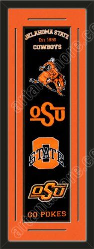 Heritage Banner Of Oklahoma State Cowboys With Team Color Double Matting-Framed Awesome & Beautiful-Must For A Championship Team Fan! Most NCAA Team Banners Available-Plz Go Through Description & Mention In Gift Message If Need A different Team Art and More, Davenport, IA http://www.amazon.com/dp/B00F5QZN8S/ref=cm_sw_r_pi_dp_XlCJub1MQNM1R