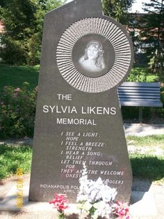 Sylvia Likens memorial in Indianapolis, Indiana. Very sad story. I remember this so well and my heart still hurts for this tortured child