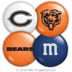Chicago Bears M&M'S Candies