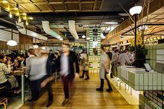 Hophaus Bier Bar, Southbank Vic by Maddison Architects / Photo by William Watt | Yellowtrace
