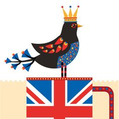 Jubilee Tea Print by Suzanne Carpenter