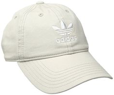 adidas Women's Originals Relaxed Fit Cap, One Size, Khaki...