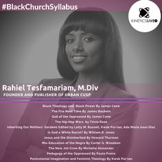 Rahiel Tesfamariam share her reading list for the Black Church, Interesting Reads, Black Power, Read Books, Oppression, Reading Lists, Bookshelves, Bookcases, Bookcase