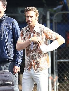 Ryan Gosling and Russell Crowe Film 'The Nice Guys'
