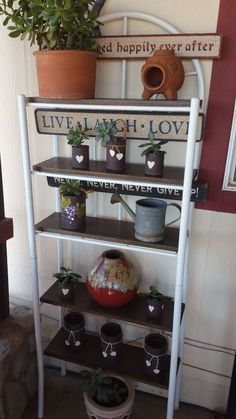 over toilet spacesaver shelf upcycle