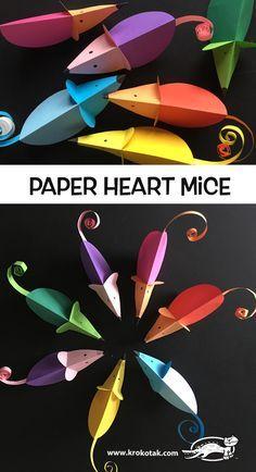 Elegant Best Origami Tutorials - Pump Origami - Easy DIY Origami Tutorial Projects to G .Elegant Best Origami Tutorials - Pump Origami - Simple DIY Origami Tutorial Projects for . simple origami projects tutorial T-shirts Mouse Crafts, New Year's Crafts, Paper Crafts For Kids, Tree Crafts, Easy Crafts, Paper Crafting, Valentines Bricolage, Valentine Crafts, Chinese New Year Crafts