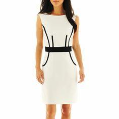 Corey Paige Sleeveless Sheath Dress, $30 | JCPenney