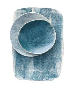Painterly plates by Elephant Ceramics