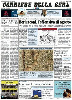 Il Corriere della Sera (10-08-13) Italian | True PDF | 60 pages | 16,26 Mb