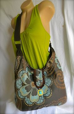 UNIQUE ONE OF A KIND- Slouch bag.!