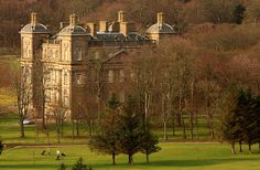 Duff House, Banff, Scotland: a treasure house and cultural arts centre.