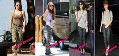 O look camuflado chegou com tudo e já é tendência nas ruas!!!  As famosas já aderiram e você, gosta??? #camuflado