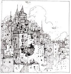 IAN MCQUE | CONCEPT ART: NYC Fantasia.