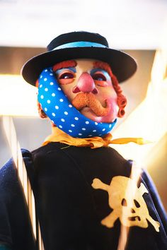 Puppet from a production of Obraztsov's Central State Puppet Theatre, Moscow…
