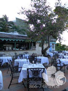 One of 15 restaurants! #hibiscustravel  www.hibiscustravel.net  www.TheCaribbeanSpecialists.com Hibiscus, Restaurants, Patio, Sandals, Beach, Outdoor Decor, Travel, Home Decor, Shoes Sandals