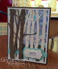 Birch Tree Birthday