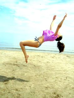 I want to learn how to do a back tuck...