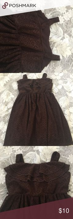 Size 7 BCXgirl Dress In a good condition, no belt. BCX Dresses Casual