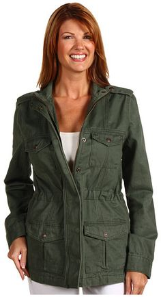 Levi's   Womens - Military Jacket thestylecure.com