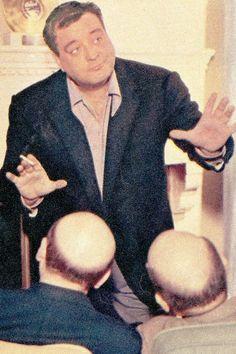 Jackie Gleason with bald men