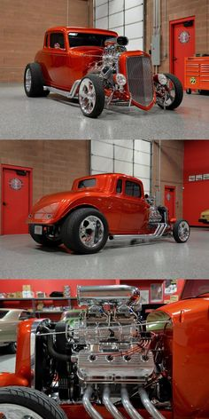 Blown Hemi 1934 Plymouth 5 Window Coupe Hot Rod - My list of the best classic cars Plymouth, 1957 Chevrolet, Tatuagem Hot Rod, Hot Rod Autos, Classic Trucks, Classic Cars, Chevy Classic, Hot Rod Transformers, Hot Rod Movie
