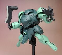 [Painted Build] HG IBO 1/144 MAN RODI: No.15 Big Size Images, Info http://www.gunjap.net/site/?p=287309