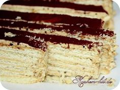 Rezept für einen Butterkekskuchen mit einer Kaffeecreme. Ein leckerer Creme Kuchen ohne Backen. (Butter Brownies Cake)