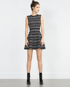 Image 1 of PATTERNED DRESS from Zara