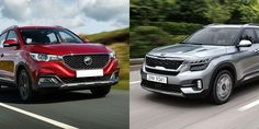 New SUV Kia Seltos VS MG ZS Comparasion, SUV MG SZ Be The Winner!! Kia Seltos and MG ZS are two cars that have just enlivened the SUV world in Indonesia. Dual Clutch Transmission, Glass Roof, Thailand, Cars, Glass Ceiling, Autos, Car, Automobile