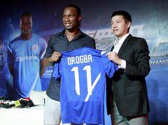 Didier Drogba, la nouvelle recrue de Shanghai Shenhua