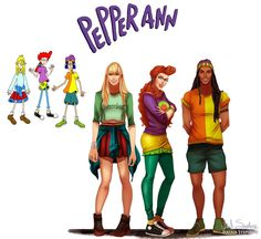 Image result for cartoon characters grown up