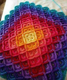 2 Lindos Tapetes de Crochê Retangular para Inspiração – Amo Fazer Crochê