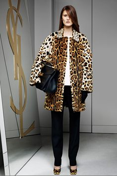 Marie Piovesan for Yves Saint Laurent, Pre-Fall 2012