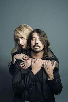 Dave Grohl & Stevie Nicks