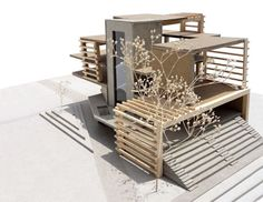 architectural skins social housing - Google Search
