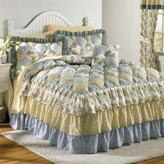 Alexis Puff Top Printed Bedspread