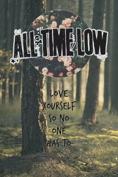 Love yourself so no one has to. |
