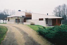 31-カレ邸 Maison Carre 1956〜1959 A. AALTO / Bazoches-sur-Guyonne (near Paris) France No.1/42の画像:北欧建築ゼミ アアルト