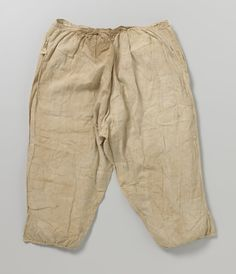 A pair of linen drawers which belonged to Hendrik Casimir I, ca. 1630-40, 175 cm. Rijksmuseum, NG-NM-1099.