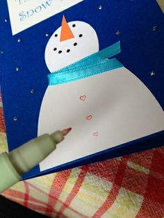 Thanks snow much card Tidbits of everyday life from a Mommy and more.: