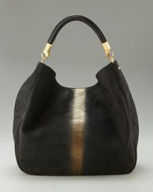 Yves Saint Laurent Roady Ranch Leather Hobo, Large | My TINY bag ...