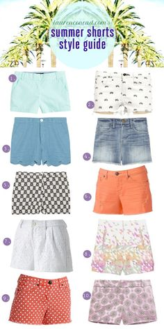 Lauren Conrad Style Guide: 10 Pairs of Summery Shorts - i always love clothes! Short Outfits, Summer Outfits, Cute Outfits, Summer Shorts, Summer Clothes, Hot Pants, Look Fashion, Fashion Outfits, Womens Fashion